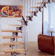 Межэтажная лестница на металлическом каркасе в г.Оренбург