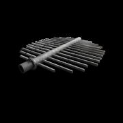 Устройства дренажные НРУ,  ВРУ,  ДРУ щелевые,  щелёванные трубы-лучи ФИПа